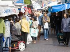 Nog altijd gratis plastic tasjes op Haagse Markt