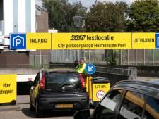 Zorgen over veiligheid coronatesters in Helmondse parkeergarage