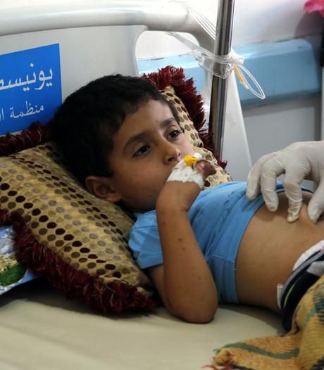 Aantal choleragevallen in Jemen naar 200.000