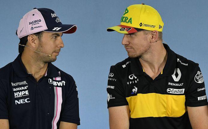 Sergio Perez en Nico Hülkenberg