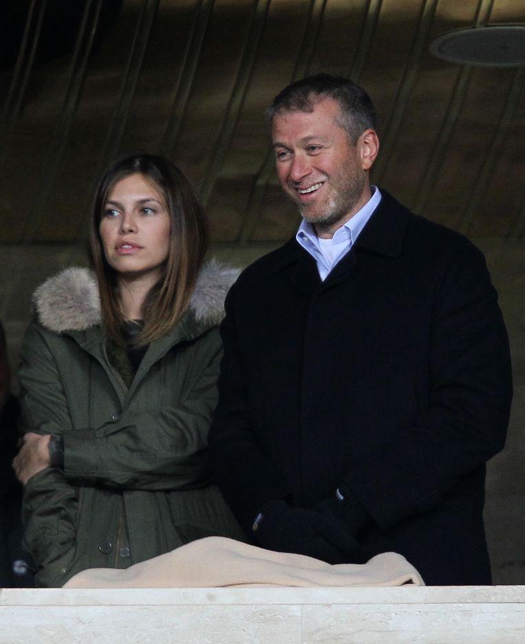 Abramovich met zijn derde vrouw Daria Zhukova.