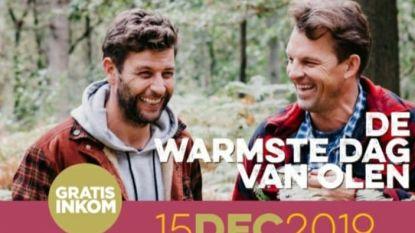 Bartel Van Riet en Stijn Avonds nodigen je uit op 'De Warmste Dag van Olen'