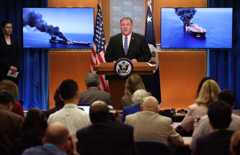 De Amerikaanse minister van Buitenlandse Zaken Mike Pompeo wees Iran gisteren aan als dader van de aanslagen.