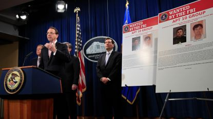VS stellen twee Chinese 'overheidshackers' in staat van beschuldiging