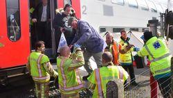 Ruim tachtig reizigers geëvacueerd na wanhoopsdaad op het spoor