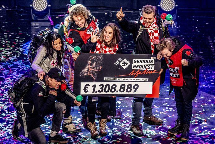Vorig jaar haalden de dj's van 3FM ruim één miljoen euro op voor het goede doel.