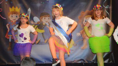 Xanthe kroont zich tot juniorprinses