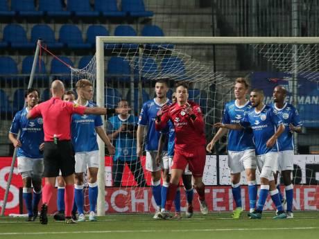 FC Den Bosch ziet winst uit handen glippen in turbulente slotfase tegen FC Eindhoven