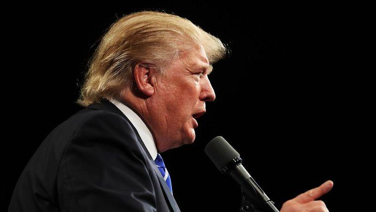 Donald Trump Beeld getty
