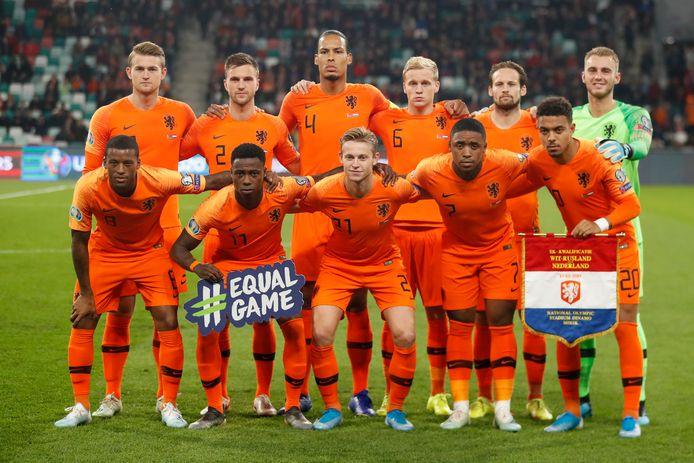 De elf van Oranje.