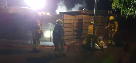 Explosie bij brand in schuur in Lichtenvoorde