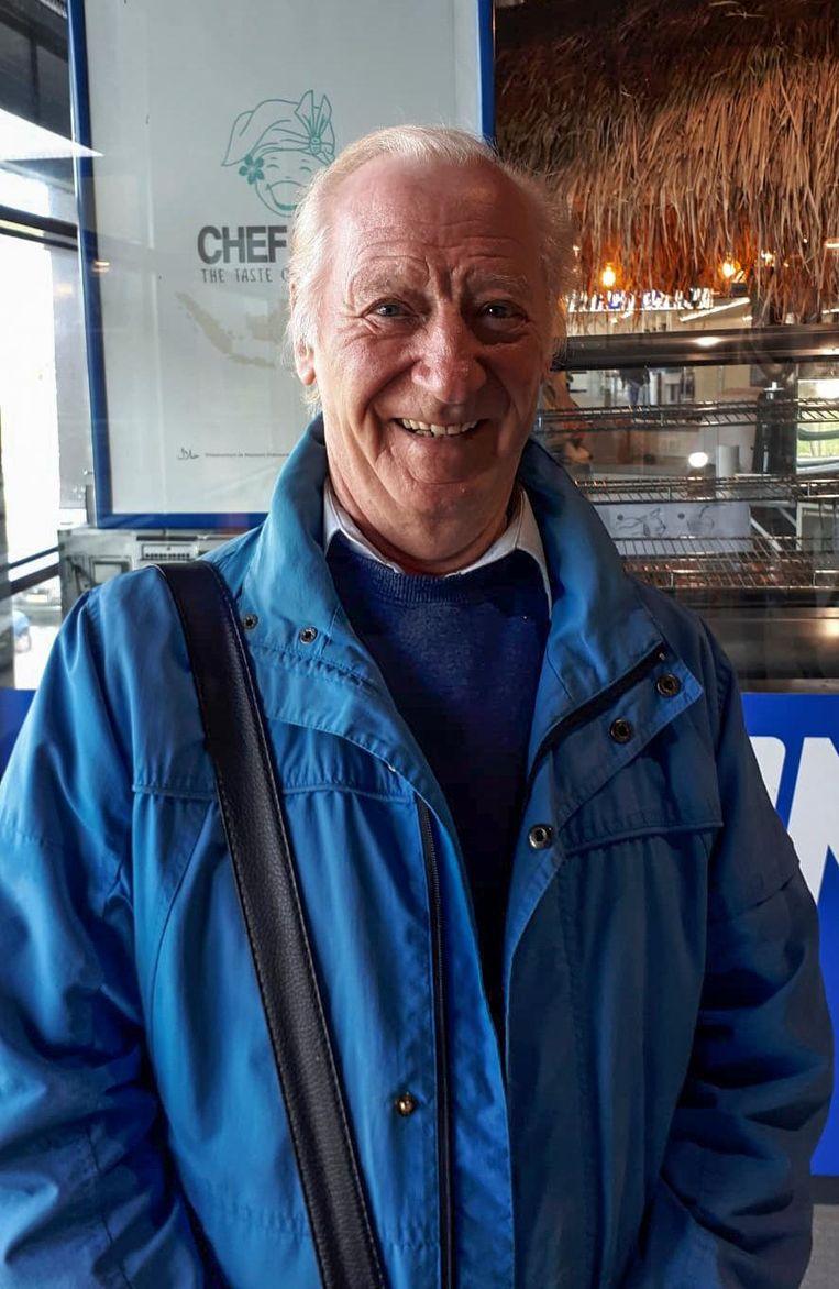 Henk van Gessel (78) Beeld Lin Woldendorp