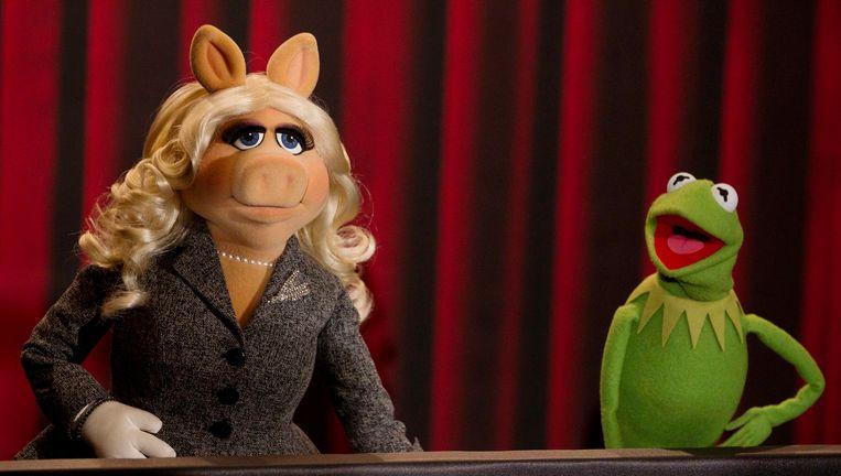 Miss Piggy en Kermit de Kikker Beeld reuters