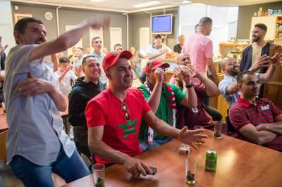 Trots bij Marokkanen in Breda overheerst na late nederlaag