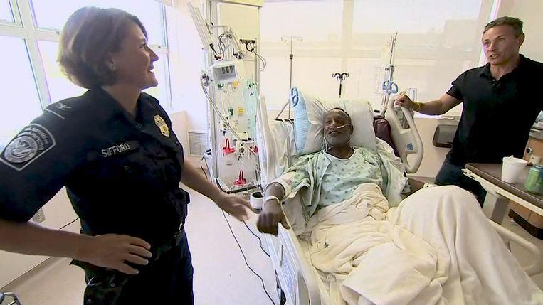 Christopher Grant moest worden opgenomen in het ziekenhuis nadat hij gewond raakte bij de schietpartij in El Paso.