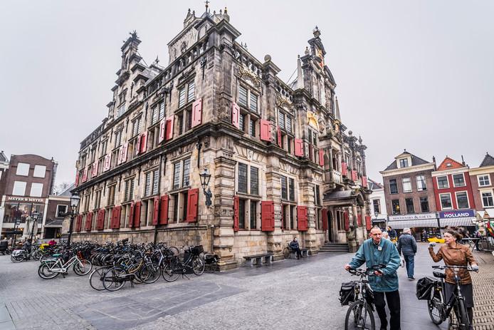 Het oude stadhuis van Delft.