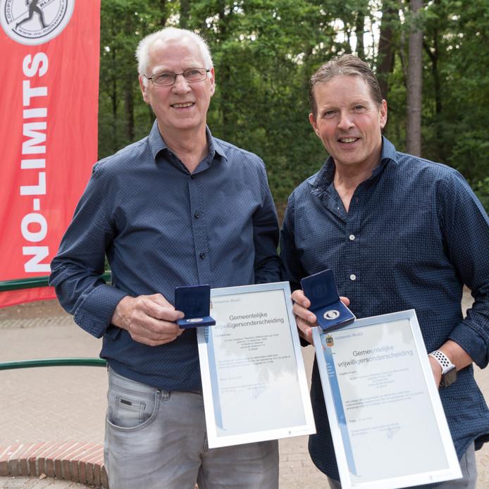 Sjef van Hoof (links) en Ton Antonis (rechts)