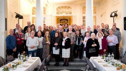 Kasteel d'Ursel verwent vrijwilligers met heerlijk etentje