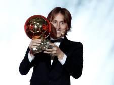 Modric wint in Parijs zijn eerste Gouden Bal