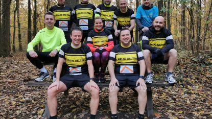 Halse Daltons lopen opnieuw 100 km voor Kom op tegen Kanker