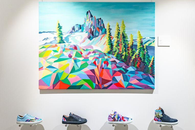 Sneakergalerie Six Hundred Four. Beeld null