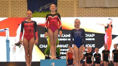 Fien Enghels Belgisch kampioen toestelturnen