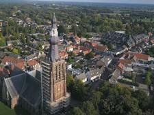 Hilvarenbeekse kerktoren is straks weer  bij de tijd