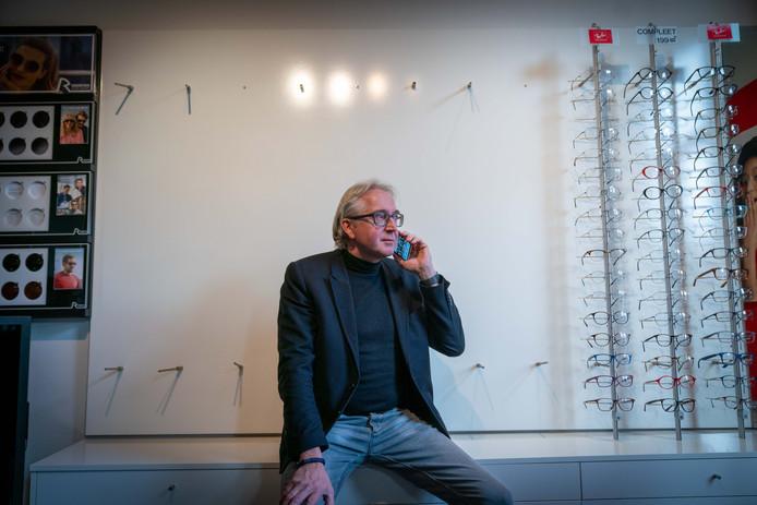 Eigenaar Rolf Nieuwenhuis.