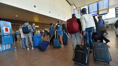 Passagiers Brussels Airport getroffen door staking bij luchtvaartmaatschappij SAS