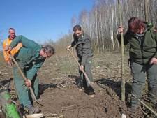 Het Spuibos 'groeit' deze week met 10.000 bomen