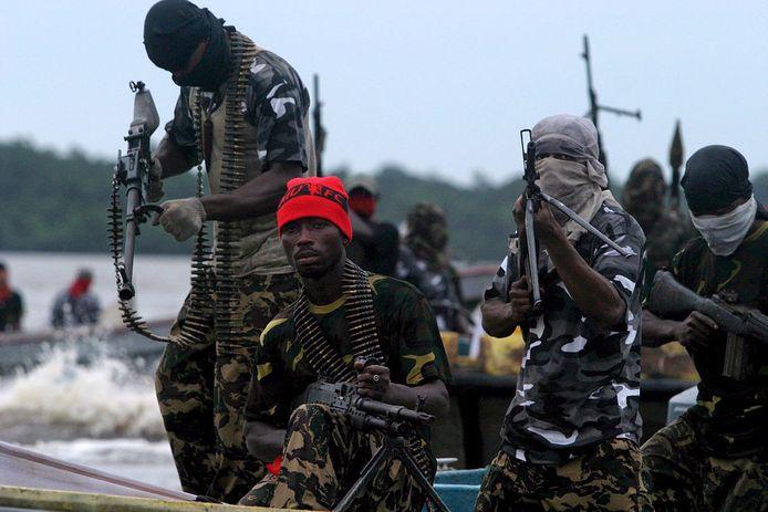 Piraten uit Nigeria opereren steeds vaker in de territoriale wateren van buurlanden.
