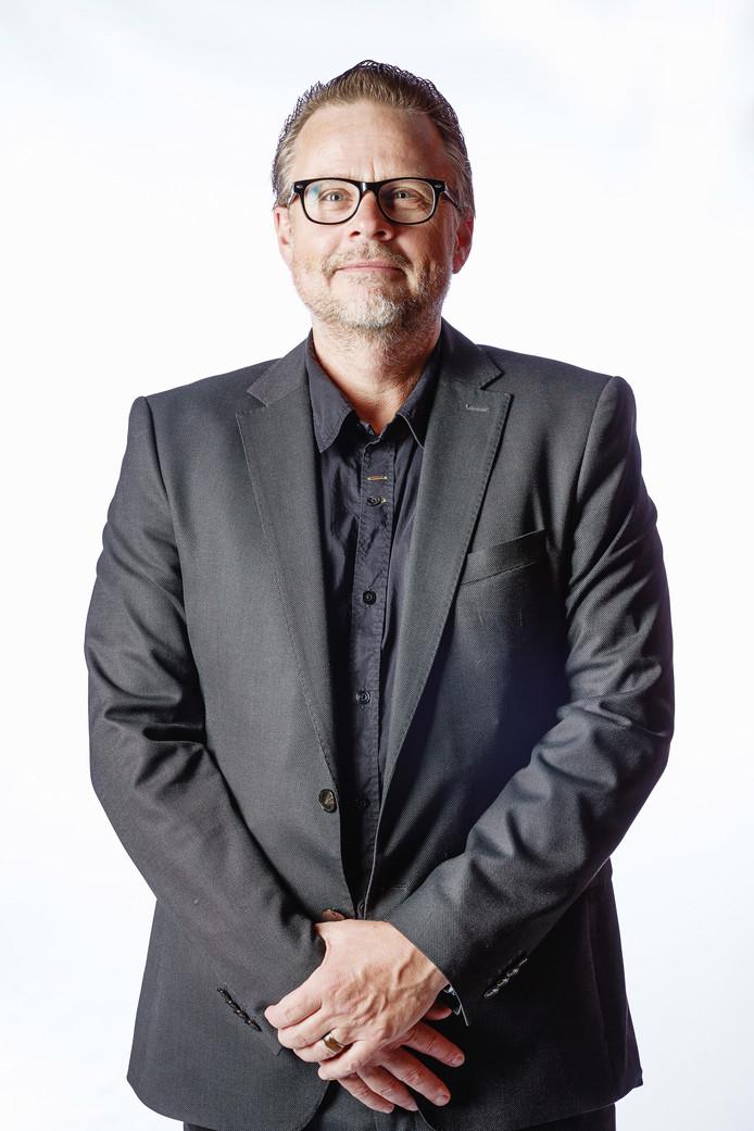 Robert Levöleger (Multicopy Apeldoorn) heeft de Digitale Diensten Award ontvangen.