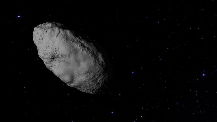 Planetoïde Bennu. Beeld Nasa