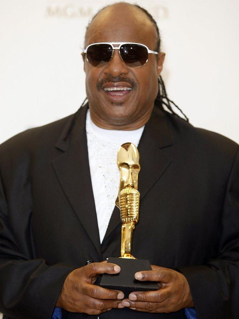 Op 3: Stevie Wonder. Beeld reuters