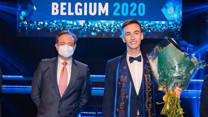 IN BEELD. Joren Houtevels is de nieuwe Mister Gay Belgium