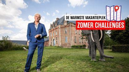 """De warmste vakantieplek van Vlaanderen, met Rick de Leeuw (59): """"Uilen en duiven toeven in balzalen van het kasteel van Heers waar ooit de beau monde zwierig danste"""""""
