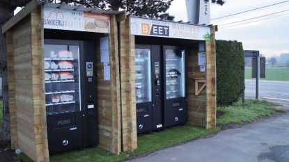 Nieuwe brood- en maaltijdautomaten op parking d'Oude Posterie