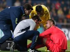 Keeper Villarreal scheurt voor vierde keer kruisband