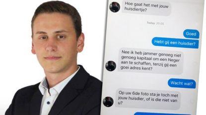 Vlaams Belanger stapt uit partij na racistische berichten op Tinder