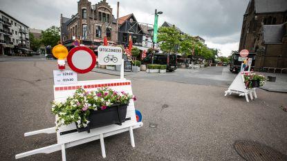 """Horeca in Neerpeltse Kerkstraat opent opnieuw de deuren: """"Straat wordt één groot terras en is afgesloten voor alle verkeer"""""""