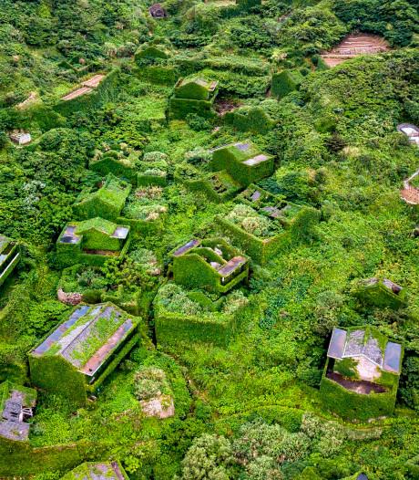 Chinees vissersplaatsje verandert langzaam in groen spookdorp