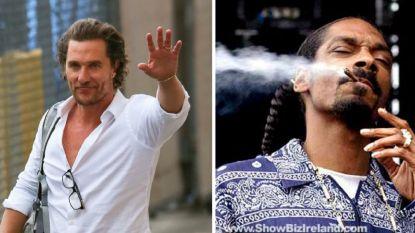 Matthew McConaughey compleet stoned nadat Snoop Dogg nepwiet op filmset vervangt door echte