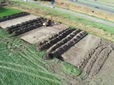 Archeologen doen bijzondere ontdekking bij voormalig mottekasteel van Nieuw- en Sint Joosland
