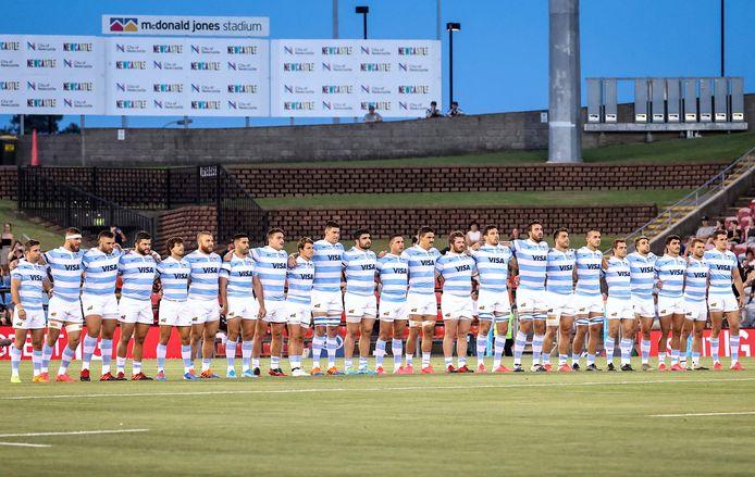 Het Argentijnse rugbyteam.