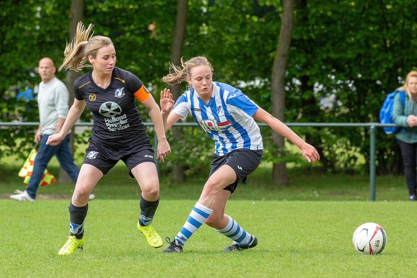 FC Eindhoven vrouwen op archiefbeeld.