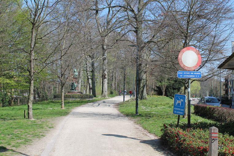 De Vesten vormen wellicht de bekendste trage weg in Lier.