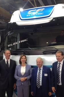 VDL en DAF presenteren elektrische truck in Eindhoven