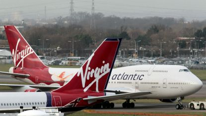 """""""Branson wil Virgin Atlantic verkopen"""""""