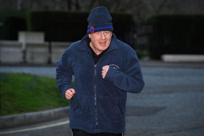 Boris Johnson doet aan hardlopen en als Londens burgemeester fietste hij geregeld door de stad.