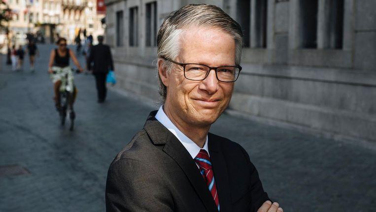 Guido Frankfurther: 'Stop met de bierfietsen, stop met de fietstaxi's, en zet fietsen binnen' Beeld Marc Driessen